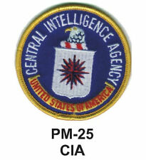 "3"" CIA Embroidered Military Patch  -brand new"