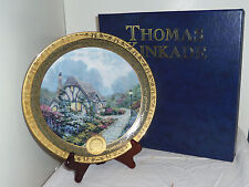 Chandlers Cottage Bradford Exchange Thomas Kinkade collector collectible plate