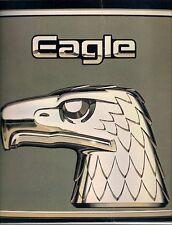American Motors AMC Eagle 1984 USA Market Sales Brochure Saloon Wagon