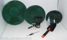 L2 Green Gold Pan Panning Kit ! Pans Magnet, Vials, Sniffer, Tweezer & Trowel