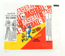 1970 Topps Baseball Wax Wrapper 10 cents