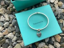 Authentic TIFFANY & Co  Love Lock Hinged Bangle RRP $2400 Proof of Purchase