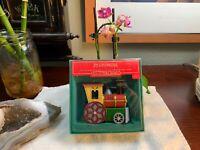 1986 Hallmark Tin Locomotive Series Ornament Dated 1986 NEW+Original Box RARE