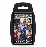 DC Comics Super Hero TOP TRUMPS - Card Game - Whose The Strongest