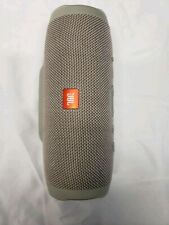 JBL Charge 3 Waterproof Portable Wireless Bluetooth Speaker (Gray) and Powerbank