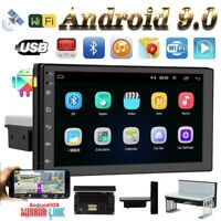 7in Single 1Din Android 9.0 Car Stereo Radio Wifi GPS Navigation Head Unit 4Core