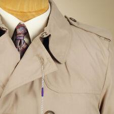 SAVILE ROW  All Weather Coat Tan - Size Large - C05