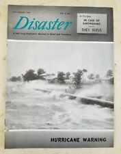 Vintage 1949 RED CROSS DISASTER MAGAZINE (VOL. 3 NO. 5) IN CASE OF EARTHQUAKE
