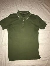 Scotch And Soda BLAUW Polo Green Mens Size Large EUC!