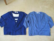 Lot, 2 womens size XL Alfred Dunner sweaters