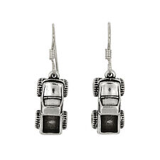 STERLING SILVER MONSTER TRUCK EARRINGS