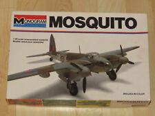 Monogram 1/48 deHavilland Mosquito Royal Air Force RAF WWII Bomber No Decals NIB