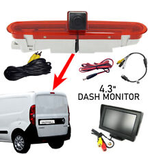 Reversing Reverse Camera & Monitor Suitable for Vauxhall Opel Combo Van 11 - 18