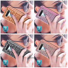 New listing For Lg Stylo 6 Lm-Q730Tm Phone Case Shockproof Bling Glitter Rubber Rugged Cover