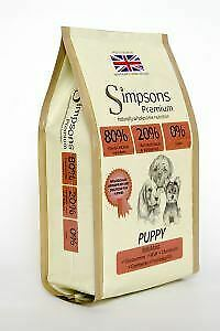Simpsons Puppy 80/20 Mixed Meat & Fish 2kg - 13082