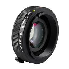 Zhongyi Mitakon Turbo II Focal Reducer Booster for Canon FD to NEX7 6 5N Camera