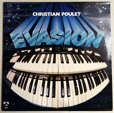 Christian Poulet - Evasion LP 1978 - CT 36.207 - Near Mint - Signiert!!! (R)