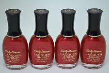 Lot of 4 Sally Hansen Lacquer Shine 8.8ml/0.3fl.oz. -Luminous-