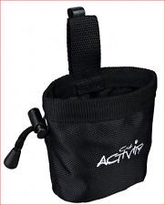 Trixie Snack Tasche Baggy aus strapazierfähigem Nylon Polyester Maße: ø 8 × 10