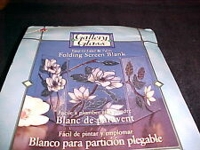 Magnolia Folding Screen Blank Gallery Glass Easy to Lead Patterns Instructions