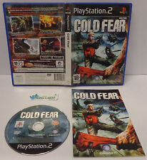 Gioco Game SONY Playstation 2 PS2 Play Station PAL ITALIANO COLD FEAR Ubisoft -