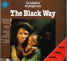 double LP : VARIOUS-the black way  (hear)  Reggae, Latin, Blues, African