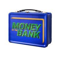 Wwe dinero en el Banco Caja De Almuerzo Azul
