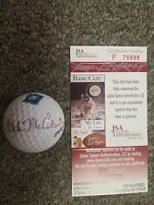 Mark McCumber Autographed Signed Golf Ball JSA Authentication