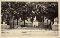 UFFENHEIM Partie Krieger Denkmal um 1910 Postkarte Verlag Beröa Buchhandlung