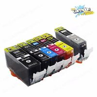 6 PK PGI-220 CLI-221 Ink Cartridges for Canon Pixma MP980 Pixma MP990 Printers