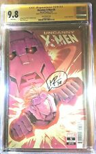 Uncanny X-Men #5 CGC 9.8 signed by Matt Rosenberg