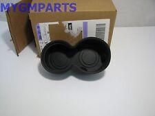 HUMMER H3 H3T BLACK RUBBER CUPHOLDER INSERT 2006-2010 NEW OEM GM 15783110