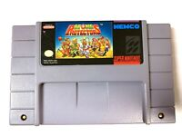 Stone Protectors SUPER NINTENDO SNES Game Tested + Working & Authentic!