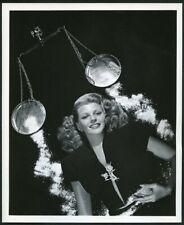 RITA HAYWORTH in STYLISH ART DECO PORTRAIT Original Vtg 1940s Photo by COBURN