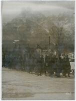 Gr. Orig-Pressephoto, 1. Weltkrieg. Gefangene Rumänen um 1917