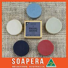 5 x assorted Facial Shaving bars -natural handmade vegan soap- Made in Melbourne