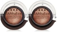 Lorac Tantalizer Baked Face & Body Bronzer Deluxe Travel Size Lot of 2 New $16