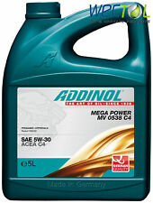 Addinol MEGA POWER MV 0538 5W30 Motoröl 5W-30 C4 1 x 5 Liter