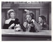 GREER GARSON VIRGINIA WEIDLER JOAN PORTER THE YOUNGEST PROFESSION MGM DBW Photo
