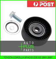 Fits TOYOTA COROLLA SPACIO ZZE122 Idler Tensioner Drive Belt Bearing Pulley