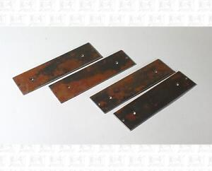 Athearn HO Parts: Rear Cupola Caboose Steel Weights (4) 90702