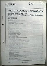 Siemens FM 638 Q4 V4 Service Manuals
