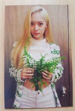 Fx f(x) Red Light official KRYSTAL photo card ( First Press ) rare and limited