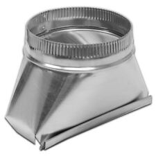 Lambro 120 Aluminum Transition, 3 1/4-Inch x 10-Inch to 4-Inch