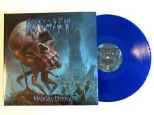 AUTOPSY MACABRE ETERNAL LP 2011 U.K. IMPORT (2) LP BLUE VINYL GATE FOLD