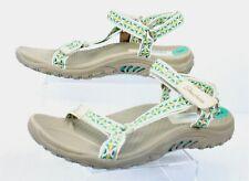 Skechers Sandal Ladies Size 8 Reggaes Tan  Straps  Walking Hiking Outdoors
