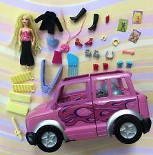 Polly Pocket Dare to Hair Stretch U V 2003 Doll Car Clothes C3376 Blonde