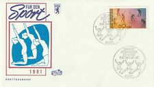 GERMANY 10 APRIL 1981 SPORTS FIRST DAY COVER BERLIN SHS