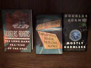 Douglas Adams. Three Hardback Novels. Like New.