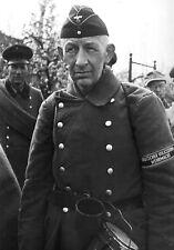 WW2 Photo WWII Older German Volkssturm Soldier World War Two Germany  / 2523
